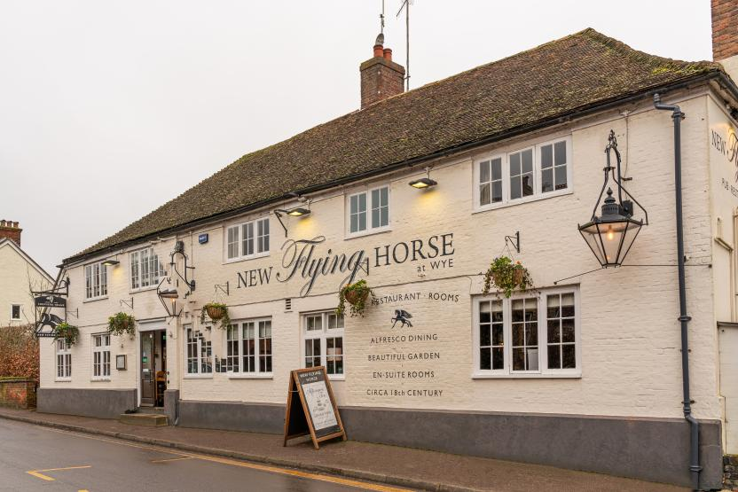 New Flying Horse, Wye
