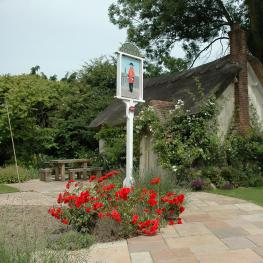 New Flying Horse, Wye - Garden