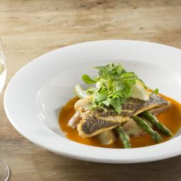 New Flying Horse, Wye - Sea Bass