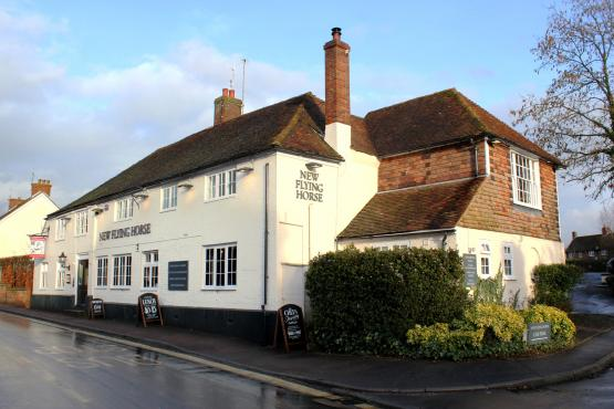 New Flying Horse, Wye - Exterior